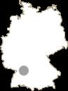 Landkarte Esslingen